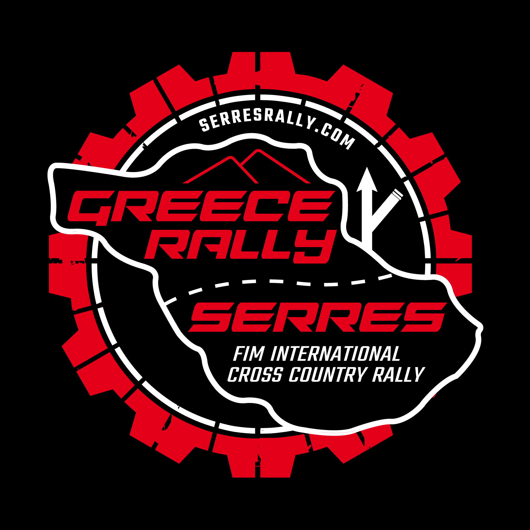 Greece Rally circle